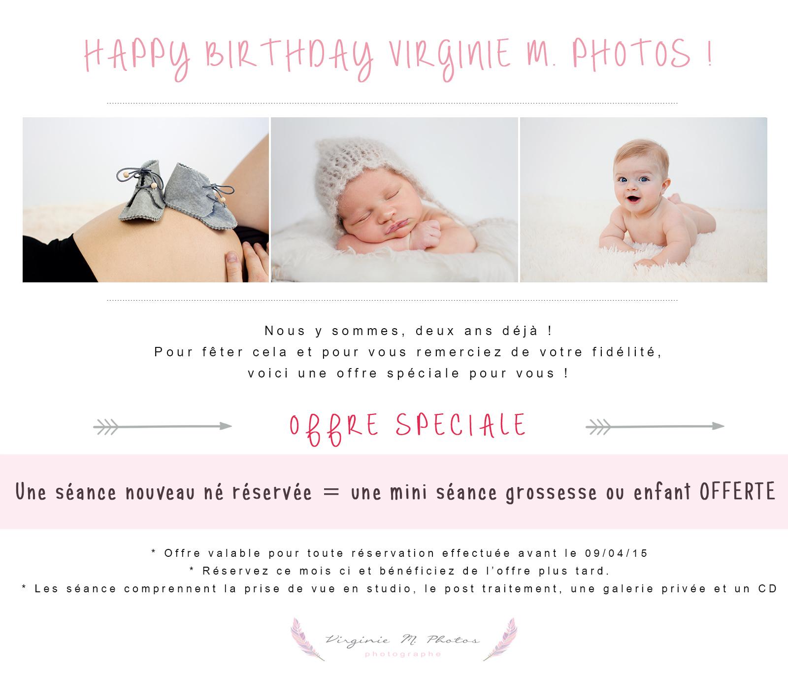 Offre-offre spéciale-anniversaire-Virginie M Photos-photographe-Nord